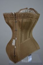 A shot of a corset from the Symington Collection
