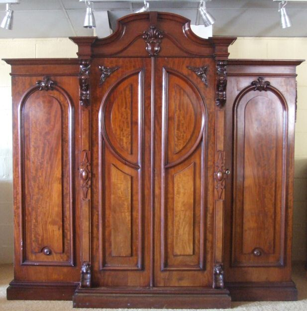 Image result for image of  victorian wardrobe