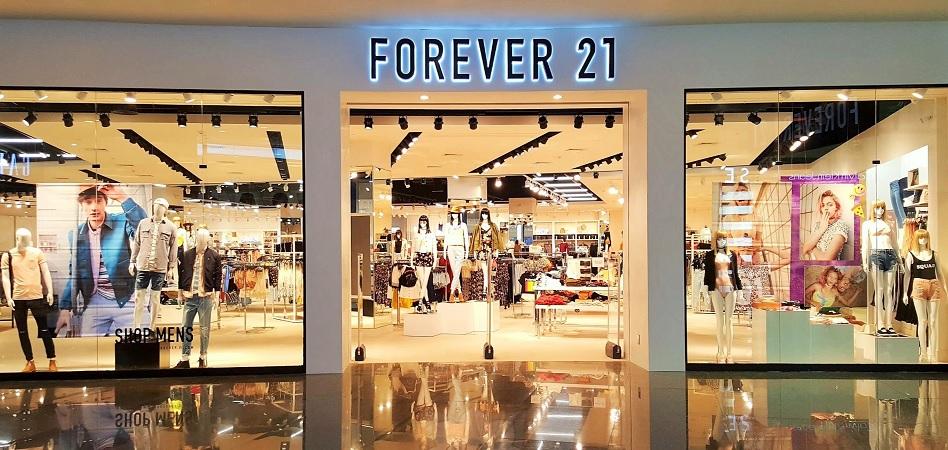 Forever 21 Se declara en Banca Rota