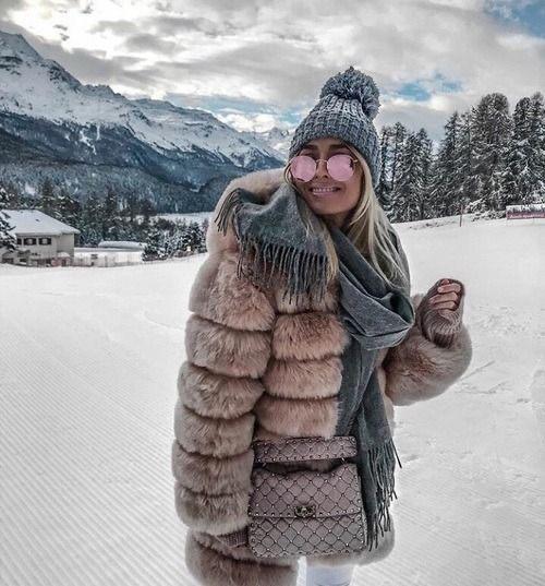 como vestir en la nieve- outfit invierno 2020
