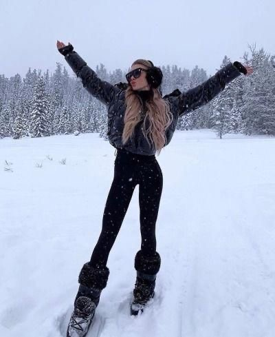look moon boot para nieve -outfit invierno 2020