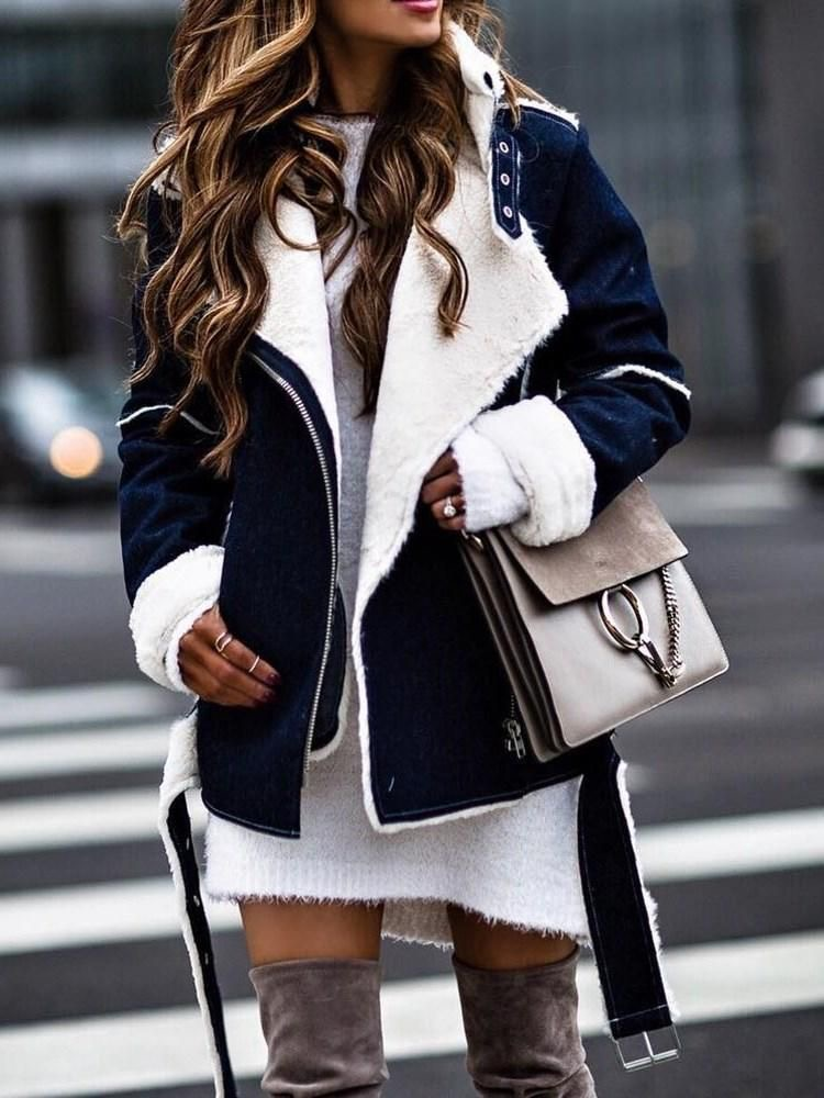 leather jacket outfit invierno 2020