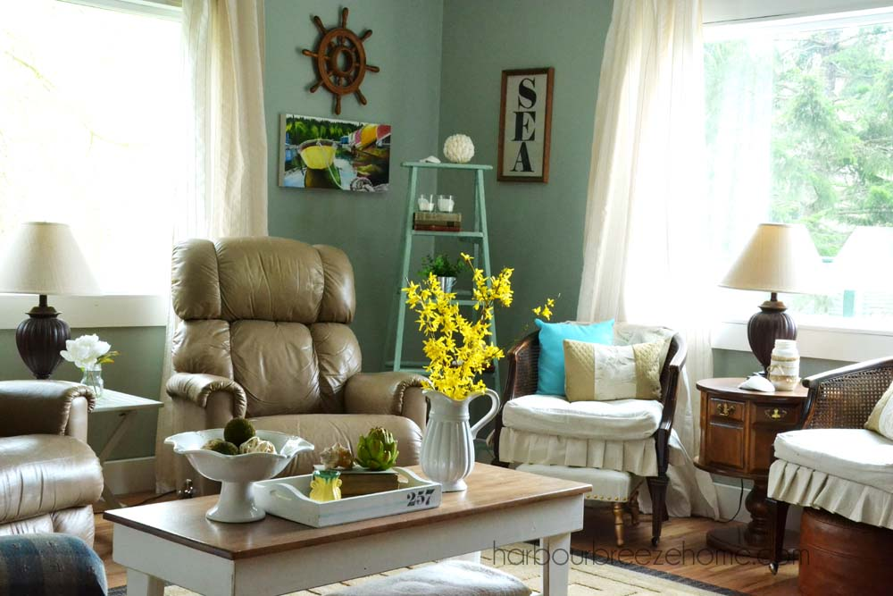 """Spring Living Room Reveal 