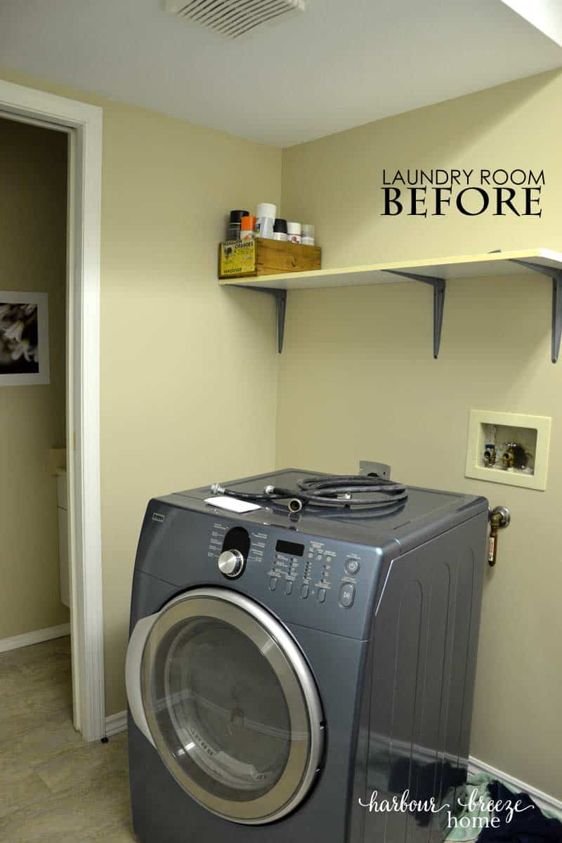 Small Laundry Room Ideas | Harbour Breeze Home on Small Laundry Ideas  id=38629