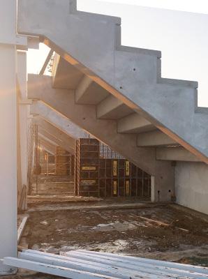 hard-concrete Paks labdarúgó stadion