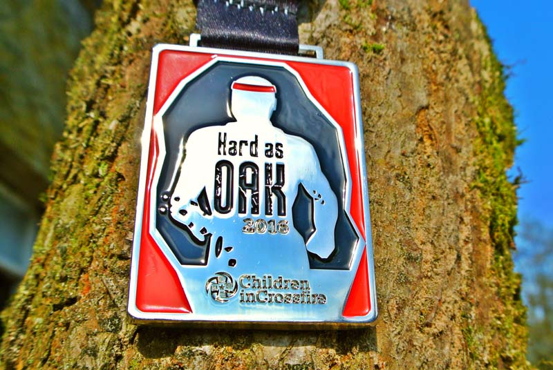 Hard as Oak medal 2016