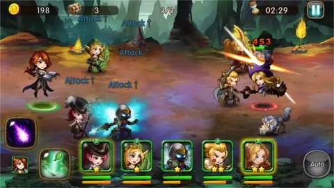 League of Angels Fire Raiders Battle