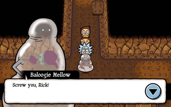 Pocket Mortys Dungeon