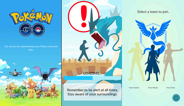 Pokemon Go Android Screenshots