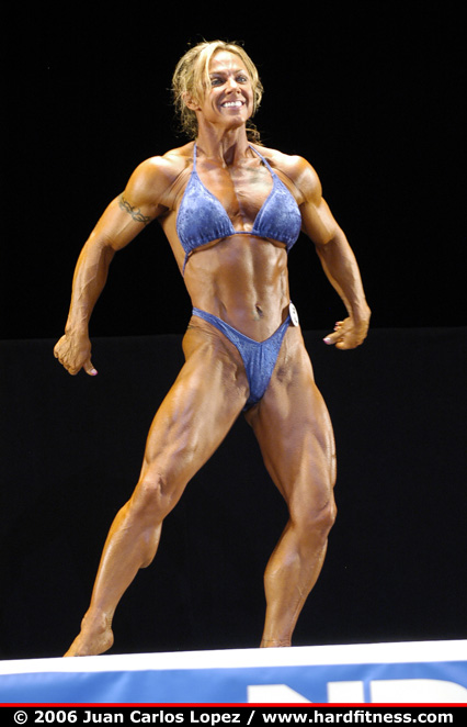 Brenda Smith Prejudging 2006 NPC National Bodybuilding