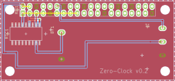 View of PCB layout