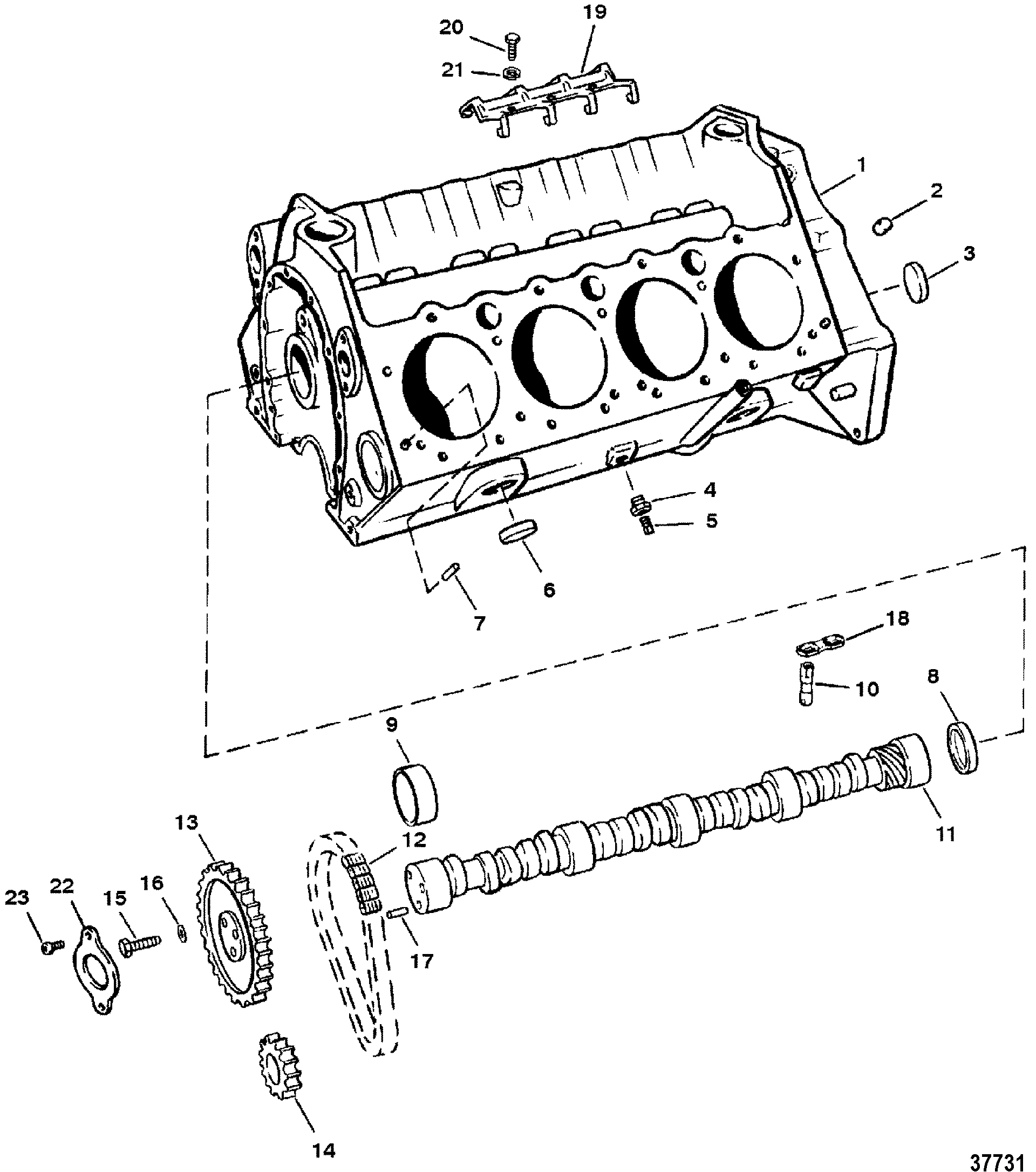 Engine Lifters Diagram