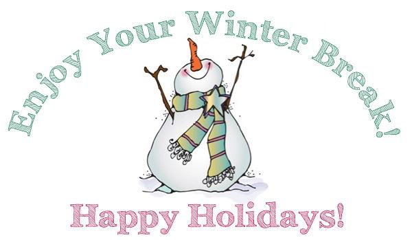 Image result for winter break clipart