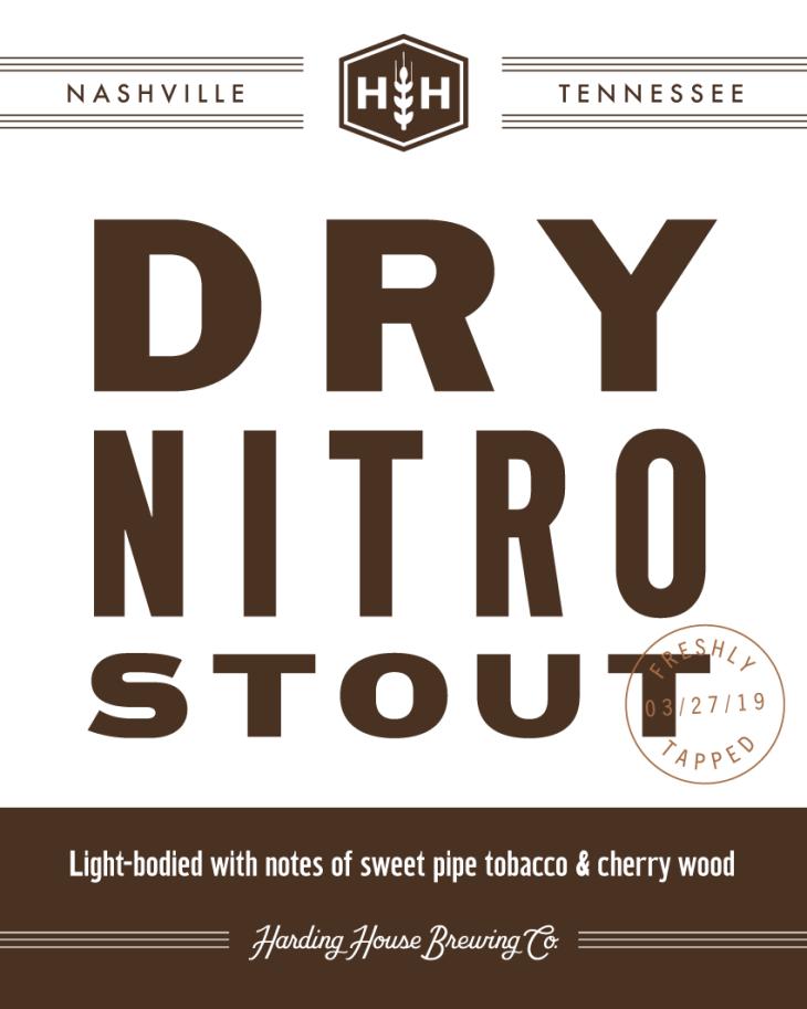 Dry Nitro Stout