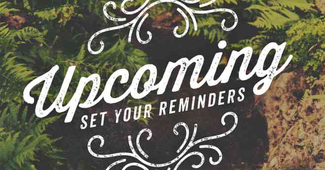 5.28.15 Upcoming Events – Summer of Ministry