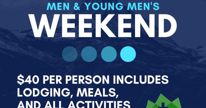 Men & Young Men Adventure Weekend