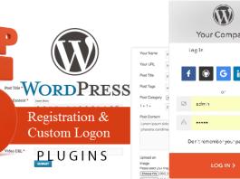 5 Best WordPress Plugin For User Registration And Custom Login