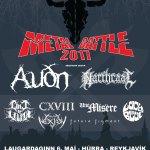 Hljómsveitakeppnin Wacken Metal Battle  6. maí á Húrra í Reykjavík – Keppnissveitir kynntar