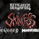 Skinless, Munnriður og Severed á upphitunarkvöldi Reykjavík Deathfest
