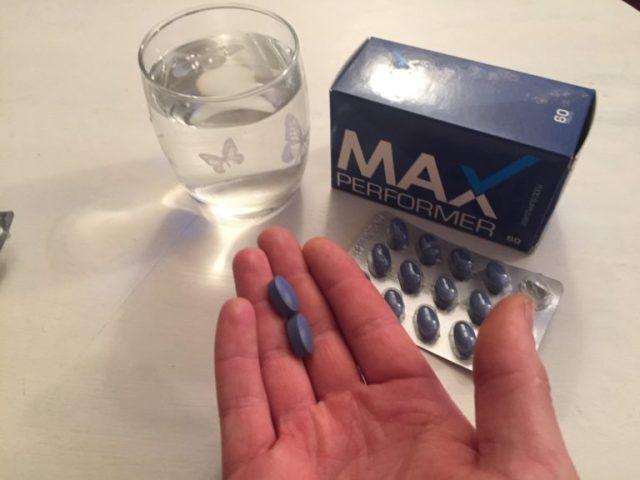 Max Performer dosage
