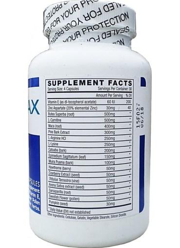 Ingredients of Semenax Pills