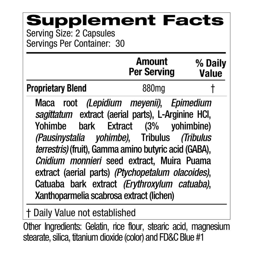 ingredients of Xanogen