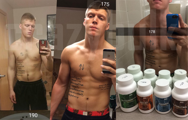 Crazy Bulk before and after results