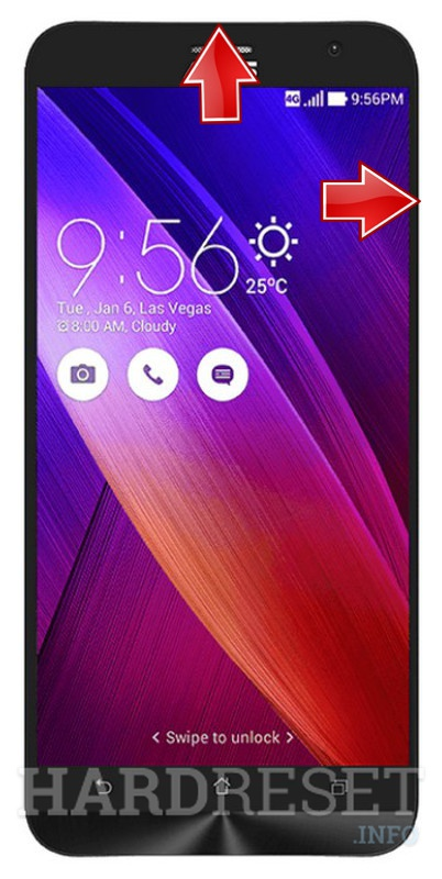 Reset ASUS Zenfone 2 ZE550ML