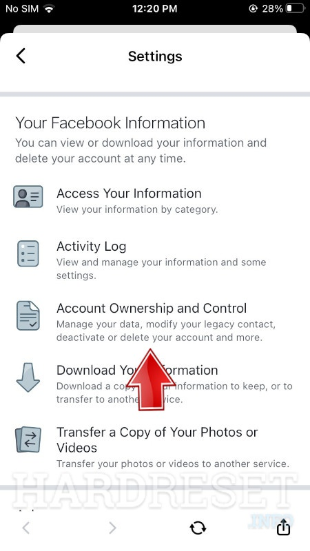 Messenger Account Ownership and Control