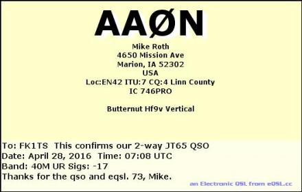 EQSL_AA0N_20160428_070900_40M_JT65_1