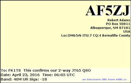 EQSL_AF5ZJ_20160423_060700_40M_JT65_1