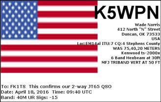 EQSL_K5WPN_20160418_094300_40M_JT65_1