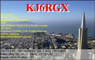 EQSL_KJ6RGX_20160528_110900_40M_JT65_1
