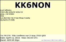 EQSL_KK6NON_20160412_070100_40M_JT65_1
