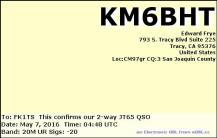 EQSL_KM6BHT_20160507_044500_20M_JT65_1