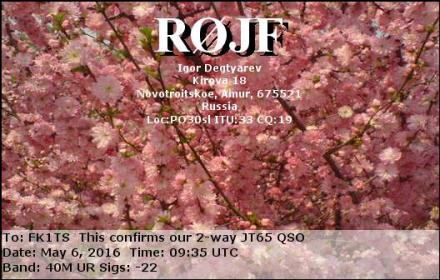 EQSL_R0JF_20160506_093200_40M_JT65_1