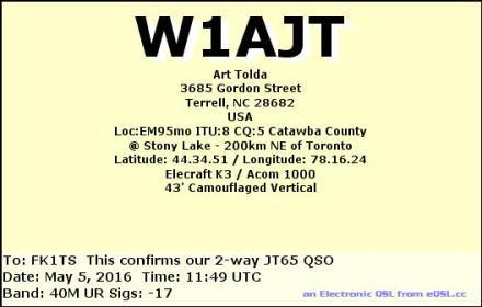 EQSL_W1AJT_20160505_114600_40M_JT65_1