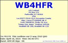 EQSL_WB4HFR_20160418_064000_40M_JT65_1