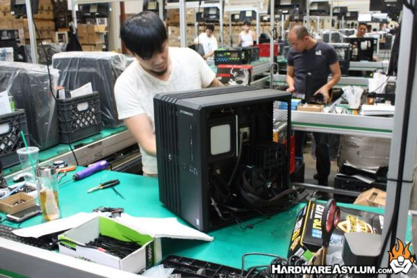 CyberPowerPC Factory Tour: What it takes to build a Gaming ...