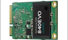Samsung 840 EVO 256GB & 500GB mSATA SSD Review