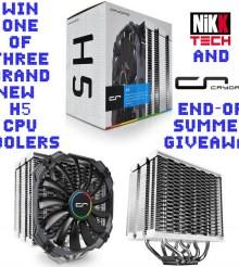 NikKTech & CRYORIG Worldwide End-Of Summer Giveaway