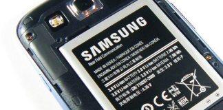 Samsung logo battery
