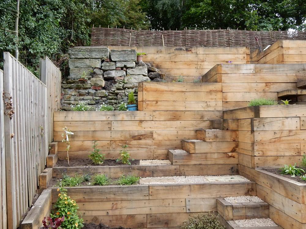 Steep Slope Garden Designs | Garden Designer Staffordshire on Steep Sloping Garden Ideas id=97720