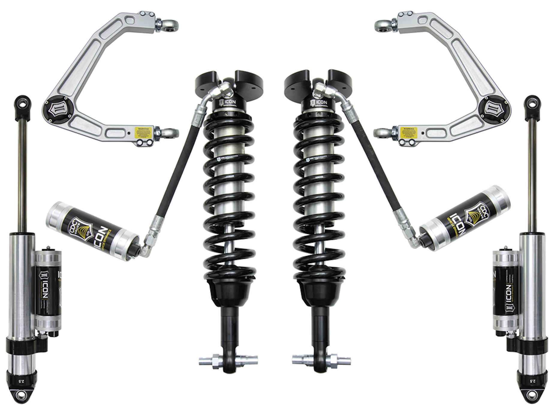 Icon Revises Suspension Systems For Gm Up 1 2 Ton