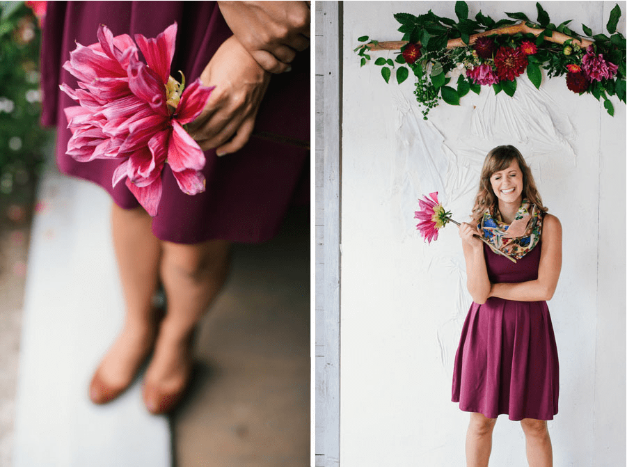 Maine Barn Wedding - Fashion Shoot12
