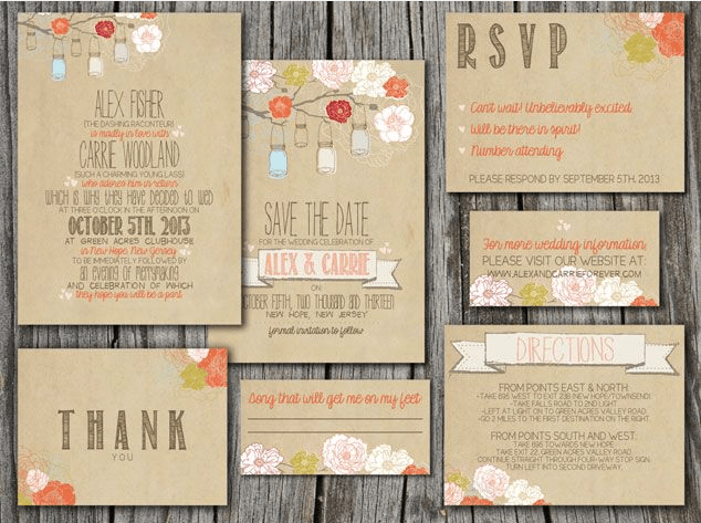 diy: online resources to help you design gorgeous invitations, Wedding invitations