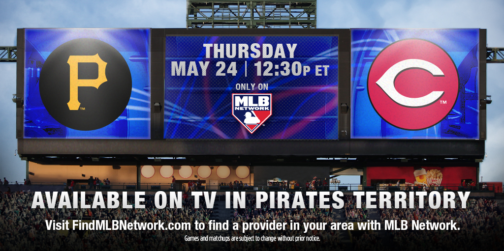 Pirates To Play At Reds On MLB » Hardy Telecommunications