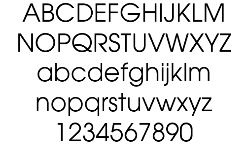 allectra font