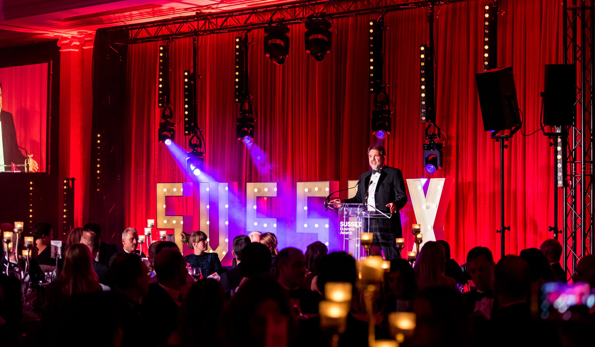 Mike Herd - Chairman of the Judges of Sussex Business Awards