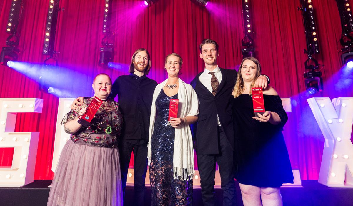 Winners of Hare's sponsor award Bluebird Tea Co.